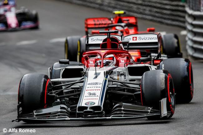 Kimi Raikkonen - Alfa Romeo- GP Mónaco 2019