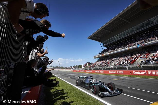 Lewis Hamilton - Mercedes - Carrera - GP España 2019