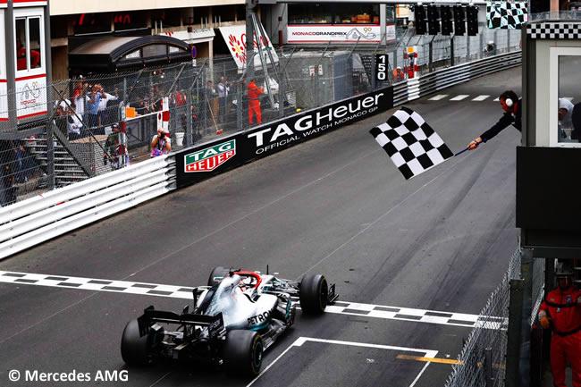 Lewis Hamilton - Mercedes GP Mónaco 2019