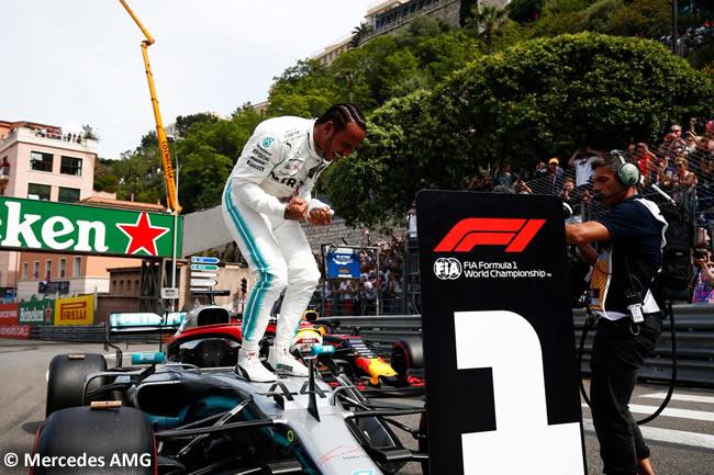 Lewis Hamilton - Mercedes - GP - GP Mónaco 2019