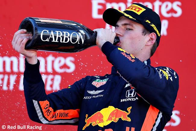 Max Verstappen - Red Bull - Carrera - GP España 2019