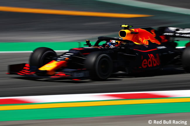 Pierre Gasly - Red Bull Racing- GP España 2019