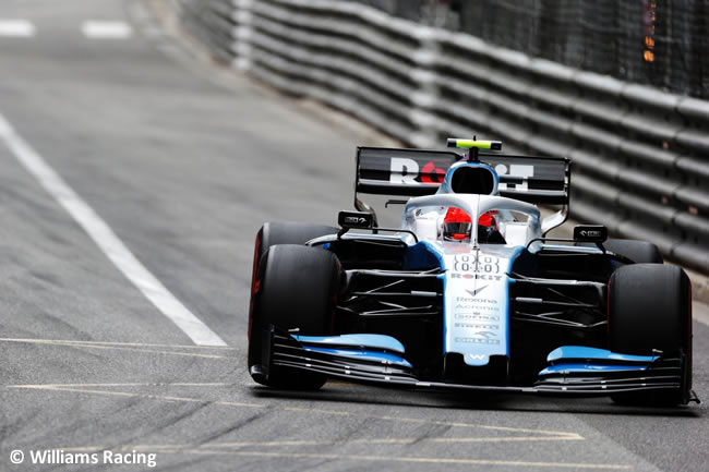Robert Kubica - Williams - GP Mónaco 2019