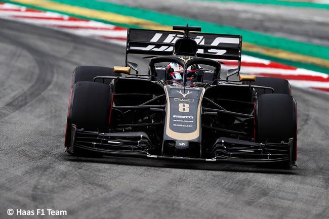 Romain Grosjean - Haas -Clasificación- GP España 2019