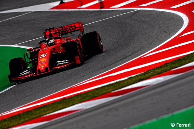 Sebastian Vettel - Scuderia Ferrari -Clasificación- GP España 2019