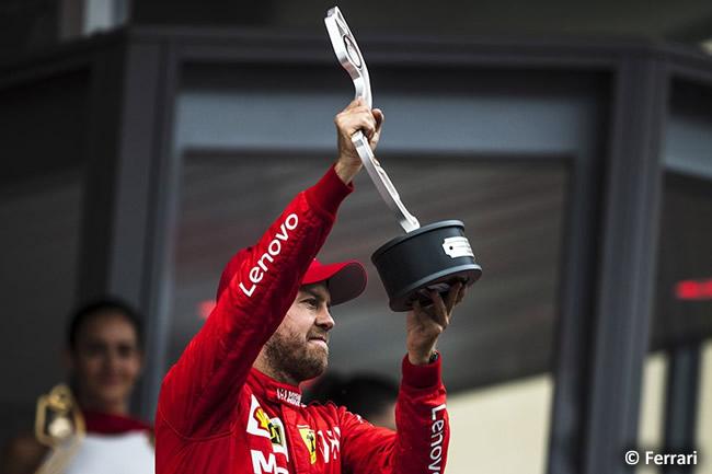 Sebastian Vettel - Scuderia Ferrari - GP Mónaco 2019
