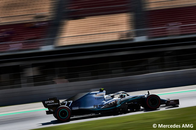 Valtteri Bottas - Mercedes -GP España 2019