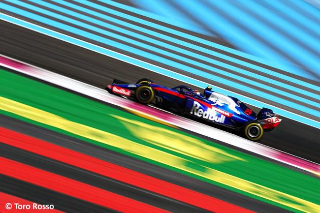 Alex Albon - Toro Rosso - Carrera GP Francia 2019