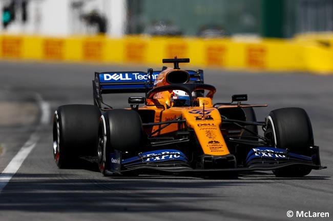 Carlos Sainz - McLaren - Carrera - Canadá 2019