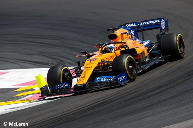 Carlos Sainz - McLaren - Carrera GP Francia 2019