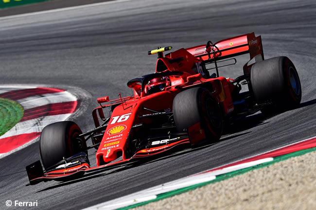 Charles Leclerc - Scuderia Ferrari - Carrera GP Austria - Red Bull Ring