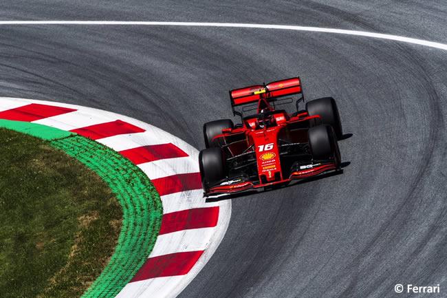 Charles Leclerc - Ferrari - Clasificación GP Austria - Red Bull Ring