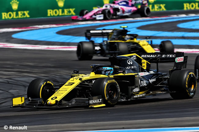 Daniel Ricciardo - Renault - Carrera GP Francia 2019