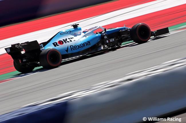 George Russell - Williams - Carrera GP Austria - Red Bull Ring