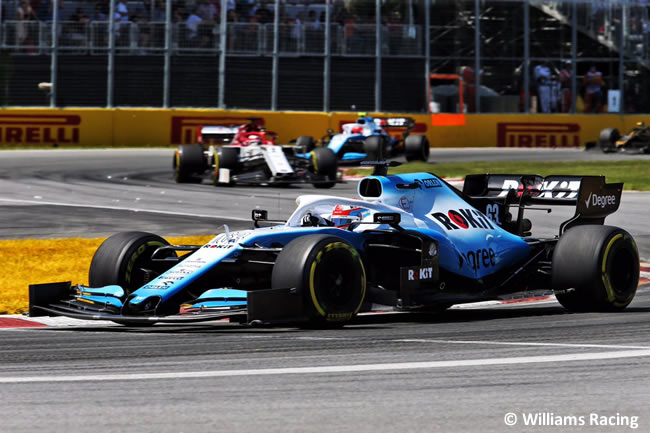 George Russell - Williams - Carrera - Canadá 2019