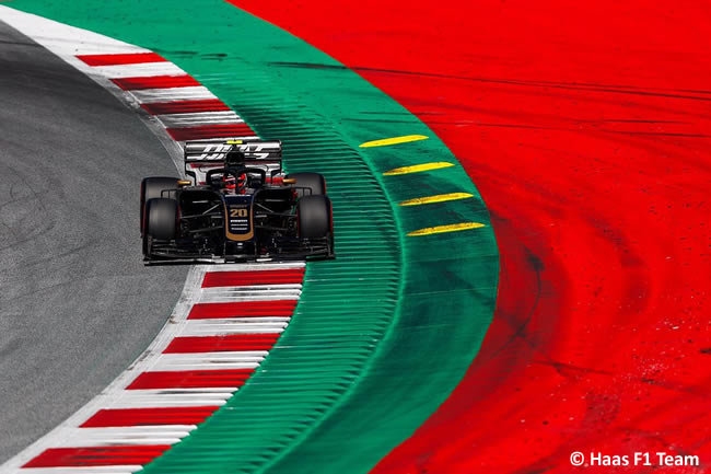 Kevin Magnussen - Haas -Clasificación GP Austria - Red Bull Ring