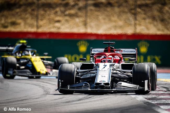 Kimi Raikkonen - Alfa Romeo - Carrera GP Francia 2019