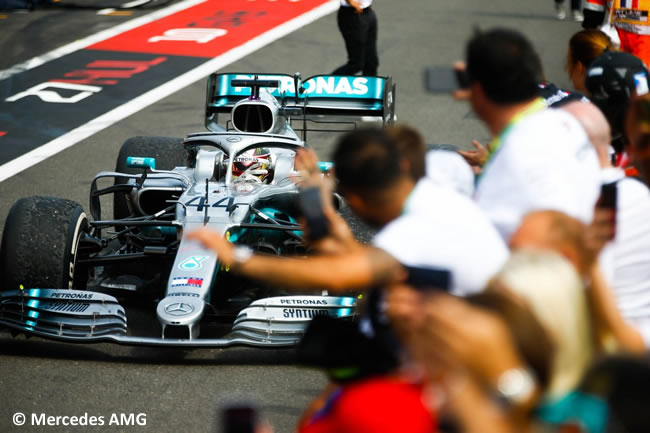 Lewis Hamilton - Mercedes - Carrera GP Francia 2019