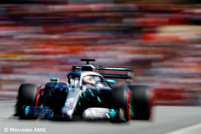 Lewis Hamilton - Mercedes -Clasificación GP Austria - Red Bull Ring