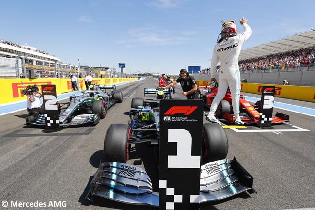 Lewis Hamilton - Mercedes - Clasificación GP Francia 2019
