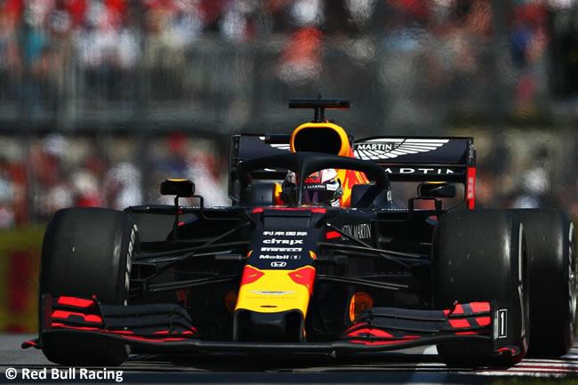 Max Verstappen - Red Bull - Carrera - Canadá 2019