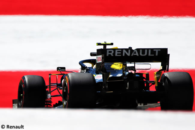 Renault -Clasificación GP Austria - Red Bull Ring