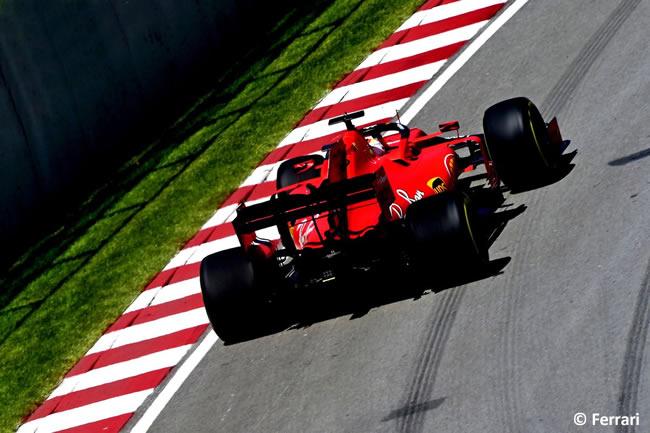 Sebastian Vettel - Scuderia Ferrari - Carrera - Canadá 2019