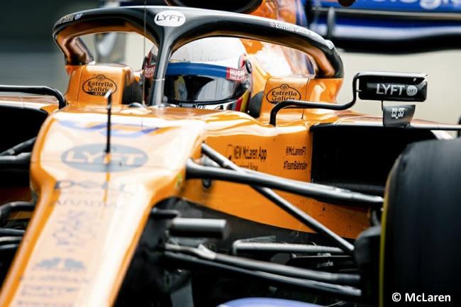 Carlos Sainz - McLaren - Carrera - GP Gran Bretaña 2019