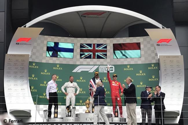Charles Leclerc - Scuderia Ferrari - Carrera - GP Gran Bretaña 2019