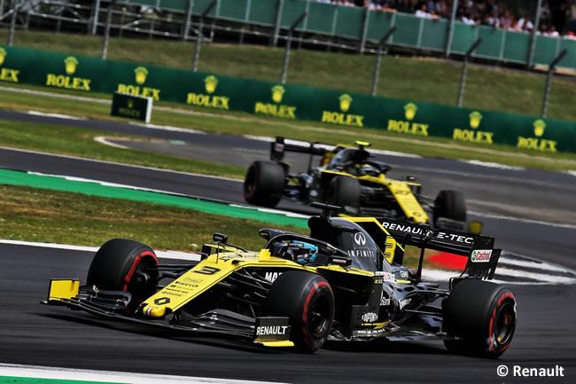 Renault - Carrera - GP Gran Bretaña 2019