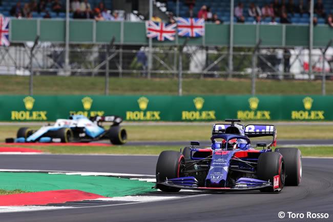 Daniil Kvyat - Toro Rosso - Carrera - GP Gran Bretaña 2019