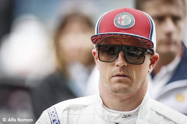 Kimi Raikkonen - Alfa Romeo - Carrera - GP Gran Bretaña 2019