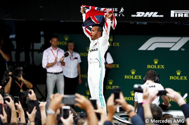 Lewis Hamilton - Mercedes AMG - Carrera - GP Gran Bretaña 2019