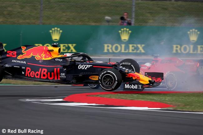 Max Verstappen - Red Bull - Carrera - GP Gran Bretaña 2019