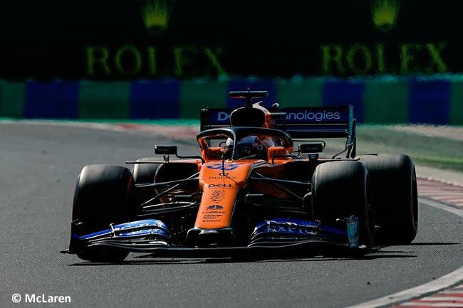 Carlos Sainz - McLaren - Carrera - GP Hungría 2019