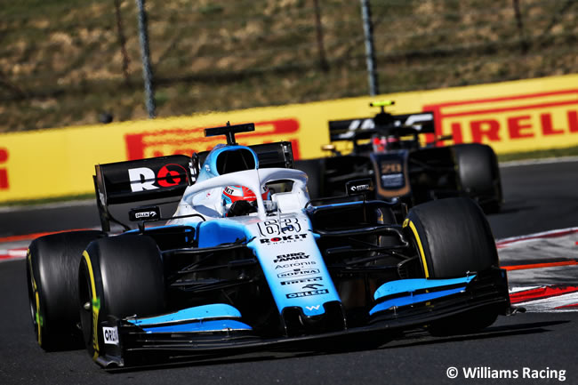 George Russell - Williams - Carrera - GP Hungría 2019