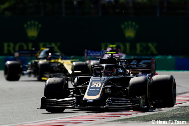 Kevin Magnussen - Haas - Carrera - GP Hungría 2019