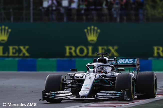 Lewis Hamilton - Mercedes - Carrera - GP Hungría 2019