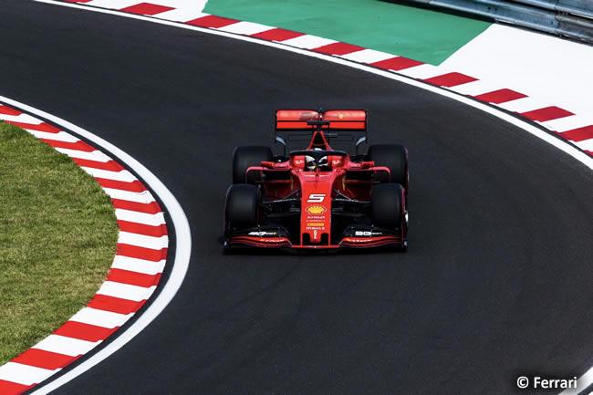 Sebastian Vettel - Scuderia Ferrari - Carrera - GP Hungría 2019
