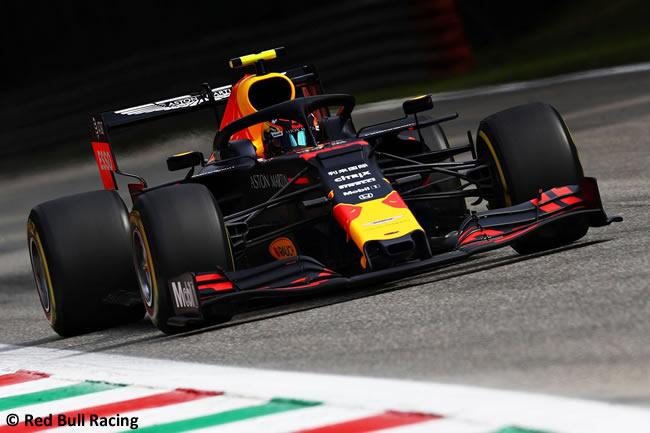 Alex Albon - Red Bull -Clasificación - GP Italia 2019