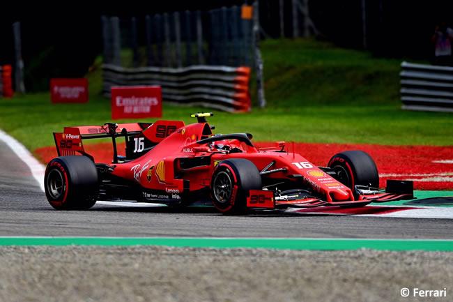 Charles Leclerc - Ferrari -Clasificación - GP Italia 2019