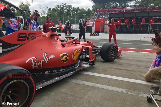 Charles Leclerc - Ferrari - Entrenamientos Libres - GP Italia 2019