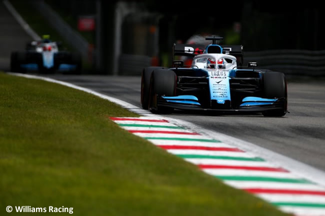 George Russell - Robert Kubica - Williams -Clasificación - GP Italia 2019
