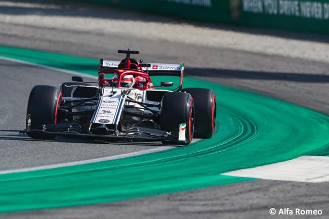Kimi Raikkonen - Alfa Romeo -Clasificación - GP Italia 2019