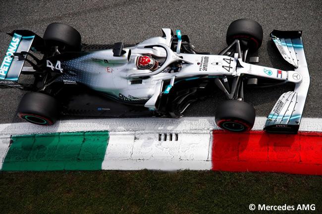 Lewis Hamilton - Mercedes -Clasificación - GP Italia 2019