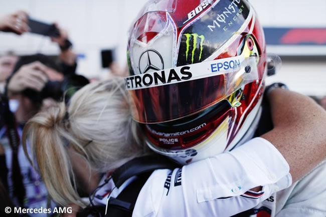Lewis Hamilton - Mercedes - Resultados - GP Rusia 2019