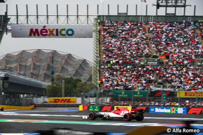 Alfa Romeo - Clasificación - GP México 2019