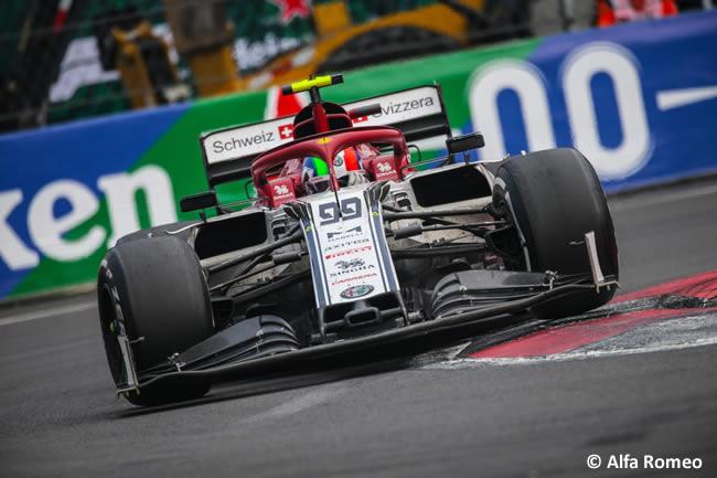 Antonio Giovinazzi- Alfa Romeo - Carrera - GP México 2019