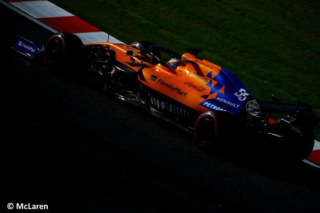 Carlos Sainz - McLaren - Carrera - GP Japón 2019