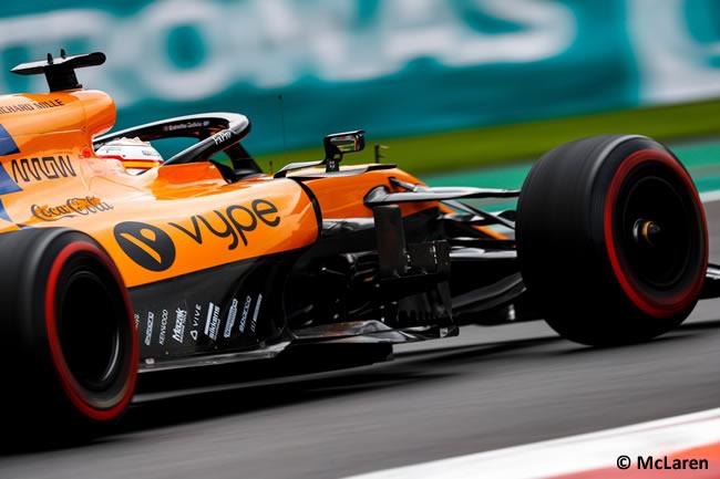 Carlos Sainz - McLaren - Entrenamientos Libres - GP México 2019